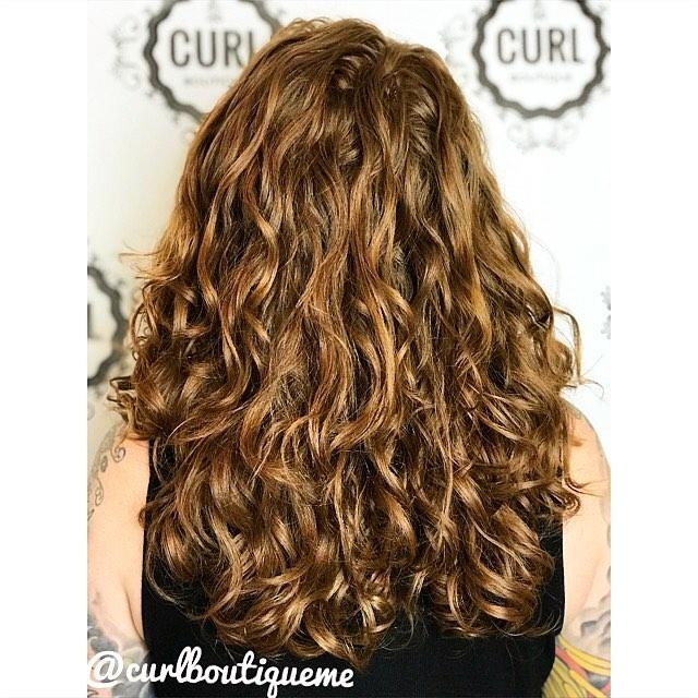 reddish curls