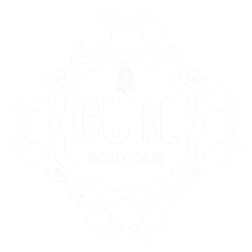 white curl boutique logo